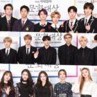 """Estrellas brillan en la alfombra roja de los """"6th Edaily Culture Awards"""""""