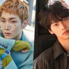 Key de SHINee y N de VIXX lucen saludables en nuevas imágenes en la milicia