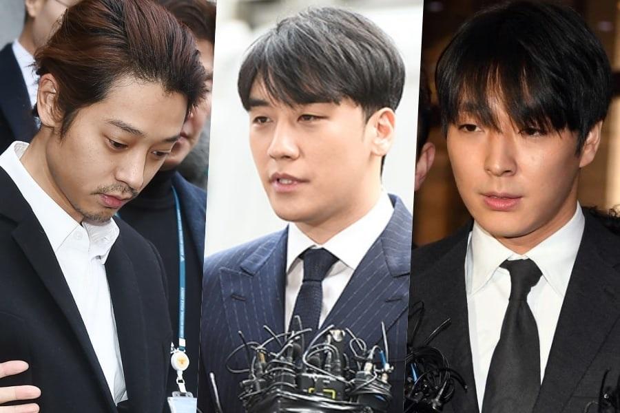 Jung Joon Young vetado de MBC + Seungri y Choi Jong Hoon temporalmente restringidos
