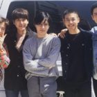 Miembros de EXO, SHINee, TVXQ y Super Junior se despiden de Minho