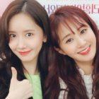 YoonA de Girls' Generation anima a Yuri en su obra