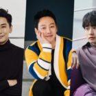 Joo Ji Hoon regala a sus amigos cercanos, Kim Dong Wook y Ryu Deok Hwan, un camión de café para apoyar su drama