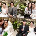 Lee Jung Hyun revela imágenes de Lee Byung Hun, Sandara Park, Seohyun, Junhoe y Jinhwan de iKON, entre otros en su boda