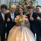 JOO se casa en ceremonia privada a la que asistió su hermano Ilhoon del grupo BTOB