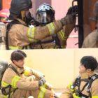 """El elenco de """"Master In The House"""" experimenta la vida intensa de los bomberos a través de entrenamiento"""