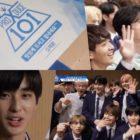 """Aprendices de """"Produce X 101"""" dan gracias a Kim Jae Hwan por su regalo sorpresa, comentan las clasificaciones, y más"""