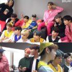 BTS, TXT y Lee Hyun disfrutan bocadillos juntos en un nuevo video de detrás de cámaras