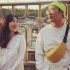 Byul comparte encantadoras fotos de su día con HaHa y agrega un dulce mensaje sobre su relación