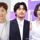 """Lee Kwang Soo muestra apoyo a Lee Si Eon y Park Bo Young en el set de """"Abyss"""""""