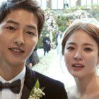 """Song Joong Ki comparte cómo Song Hye Kyo lo apoyó para el nuevo drama """"Arthdal Chronicles"""""""