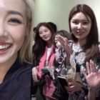 Tiffany comparte lindos momentos de la mini reunión de Girls' Generation