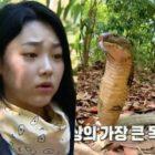 """Mina de gugudan sorprende a todos con su inesperada reacción a una cobra en """"Law Of The Jungle"""""""