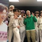 Eric Nam y el cantante estadounidense Lauv muestran amor por BTS en su concierto de Wembley en Londres