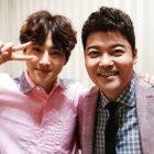 Suho de EXO le da las gracias a Jun Hyun Moo por su regalo especial de cumpleaños