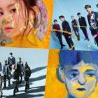GOT7, NCT 127, Lee Hi, Jannabi y más, en los primeros lugares de las listas mensuales y semanales de Gaon