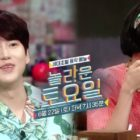 "Kyuhyun de Super Junior y Han Hye Jin son polos opuestos en la preview de ""Amazing Saturday"""