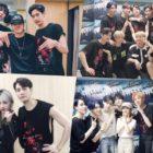 Integrantes de BTOB, Stray Kids, KARD, B.A.P y más, se divierten en el concierto de GOT7