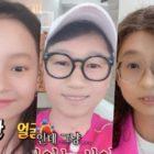 """El elenco de """"Running Man"""" comparte fotos con filtro de cara de bebé + Se burlan entre ellos"""