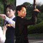 """Yeo Jin Goo y Minah juegan entre ellos para calmar sus nervios en el set de """"Absolute Boyfriend"""""""