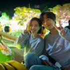 """Park Bo Young y Ahn Hyo Seop sonríen en fotos detrás de escenas de """"Abyss"""""""