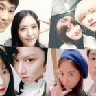 Lindas amistades entre chicos y chicas en la industria del entretenimiento coreano