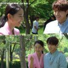 """Shin Hye Sun y L de INFINITE muestran una química juguetona en video del detrás de cámaras de """"Angel's Last Mission: Love"""""""