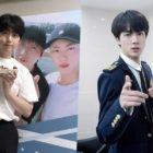 """Jin de BTS envía su apoyo por su concierto en solitario a su amigo del """"Club del 92"""", Sandeul de B1A4"""