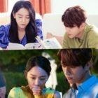 """Shin Hye Sun y L de INFINITE muestran una brillante química incluso fuera de cámara en """"Angel's Last Mission: Love"""""""