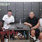 Kim Jong Kook juega fútbol y comparte divertidas conversaciones con el jugador del Manchester United Paul Pogba
