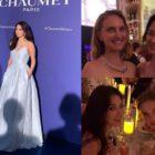 Song Hye Kyo brilla en evento de joyería en Mónaco + Posa junto a Natalie Portman y Natalia Vodianova
