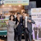 """Kim Soo Hyun sorprende a IU y Yeo Jin Goo en el set de """"Hotel Del Luna"""""""