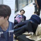 """Kwak Dong Yeon, Park Jin Hee y Bong Tae Gyu muestran su trabajo en equipo mientras graban una escena de acción para """"Detective doctor"""""""
