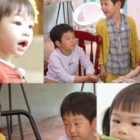 "Seo Eon y Seo Jun se encuentran con la hija de Soyul y Moon Hee Jun en ""The Return Of Superman"""