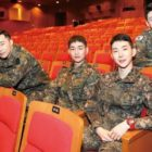 Sunggyu de INFINITE, Onew de SHINee y Jo Kwon de 2AM lucen impresionantes en portada de revista militar + Envían un mensaje a los fans