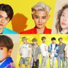 EXO-SC, Taeyeon de Girls' Generation, Kang Daniel y BTS encabezan la listas semanales de Gaon