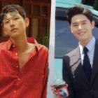 """Im Siwan apoya a su compañero de ZE:A Kim Dong Jun en el set de """"Chief Of Staff"""""""