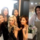 Girls' Generation, Uhm Jung Hwa, Bora y Son Naeun de Apink, muestran apoyo por Tiffany en su concierto en solitario