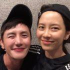 Song Ji Hyo muestra su amistad con Ahn Tae Young en selfies adorablemente divertidas
