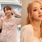 Hyeri de Girl's Day agradece a Rosé de BLACKPINK por enviar apoyo al set de su drama