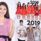 """Estrellas caminan por la alfombra roja del día 2 de la ceremonia """"2019 K-World Festa"""""""