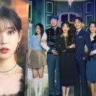 """IU y """"Hotel Del Luna"""" encabezan las listas de los actores y dramas más comentados de esta semana"""