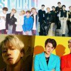 BTS, NCT 127, Baekhyun, EXO-SC y más ocupan posiciones altas en el chart de álbumes mundiales de Billboard