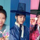 """Kim Min Jae, Gong Seung Yeon, Park Ji Hoon y más aparecen en coloridos carteles de personajes de """"Flower Crew: Joseon Marriage Agency"""""""