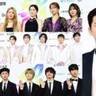 Las estrellas brillan en la alfombra azul en el día 2 de los 2019 Soribada Best K-Music Awards