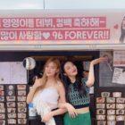 Yerin de GFRIEND muestra su amor por sus amigas Hayoung de Apink y Joy de Red Velvet con dulce regalo