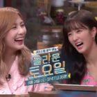 """Hayoung y Yoon Bomi de Apink alegran """"Amazing Saturday"""" en nuevo adelanto"""