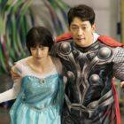 """Rain y Lim Ji Yeon realizan cosplay de populares personajes de películas en """"Welcome 2 Life"""""""