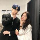 Han Sun Hwa muestra apoyo por el debut de su hermano menor Han Seung Woo con X1