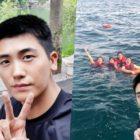 Park Hyung Sik revela la selfie original que V de BTS usó para editar su foto de vacaciones