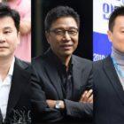 Yang Hyun Suk, Lee Soo Man y Park Jin Young experimentan caída del valor de sus activos accionarios